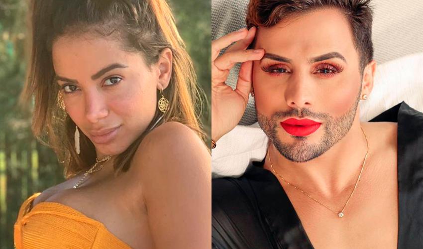 """GENTE??? Amiga de Anitta posta foto com ela e Jojo Maronttinni e Agustin Fernandez comenta: """"Só as Bolsominion"""""""