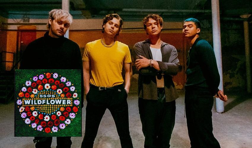 """5 Seconds Of Summer lançam mais um capítulo de seu novo álbum; ouça """"Wildflower"""""""