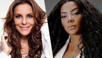 O feat é real! Ivete Sangalo e Ludmilla dão spoiler da aguardada parceria
