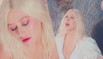 """Christina Aguilera esbanja beleza no clipe de """"Fall On Me"""", parceria com o duo A Great Big World; assista"""