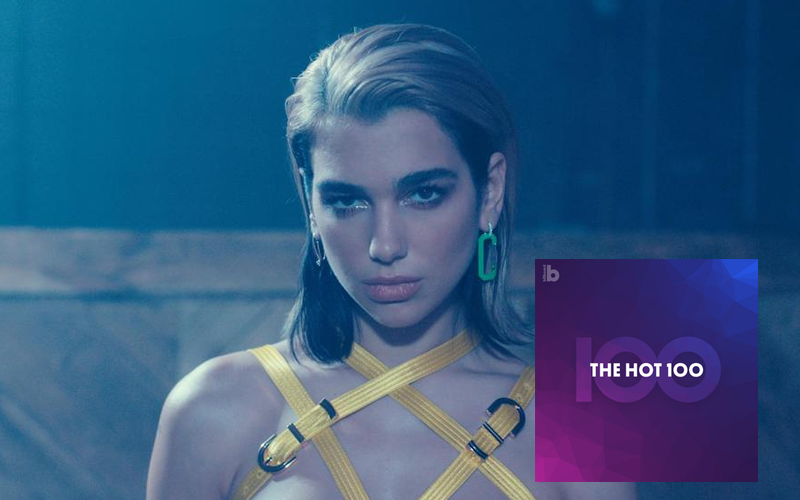 "HIT! Dua Lipa invade o top 5 da Hot 100 com ""Don't Start Now"" e supera marco de ""New Rules"""