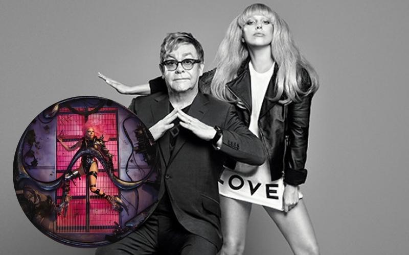 """Elton John elogia """"Chromatica"""" e diz estar orgulhoso de Lady Gaga"""