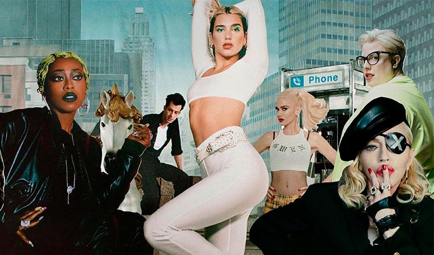 """Com Madonna, Gwen Stefani, Mark Robson e mais, Dua Lipa anuncia nova versão do """"Future Nostalgia"""""""