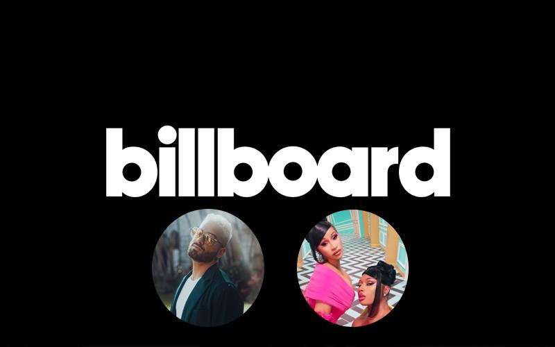 Com Cardi B e Maluma no topo, Billboard cria duas novas paradas mundiais