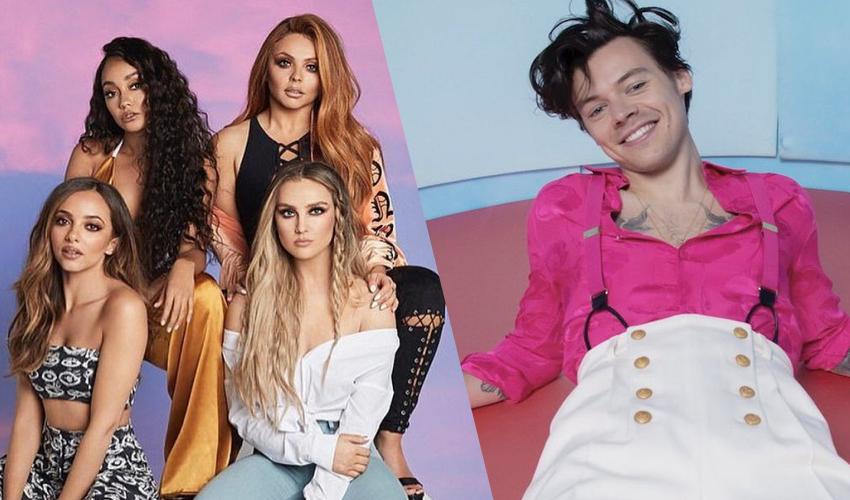 """Little Mix apresenta """"Holiday"""" e faz cover de """"Falling"""" de Harry Styles em rádio"""