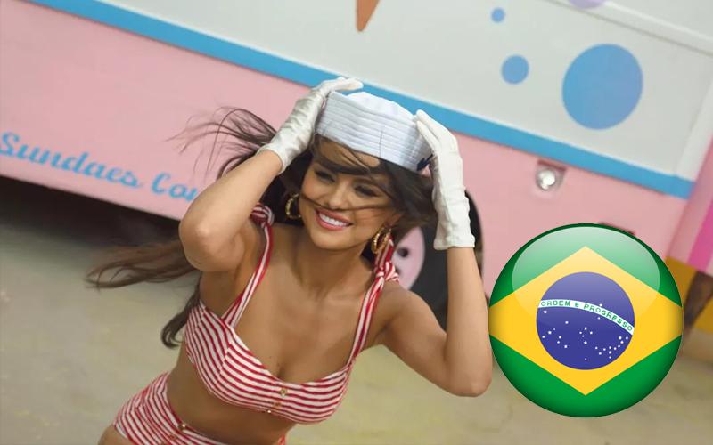 Equipe de Selena Gomez grava cenas de novo videoclipe no Brasil