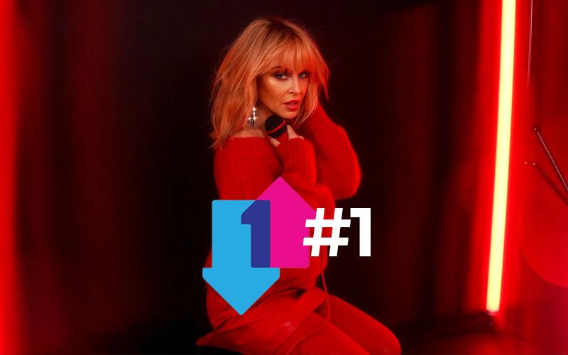 Kylie Minogue se torna a primeira artista feminina a conseguir um álbum #1 no UK em cinco décadas consecutivas