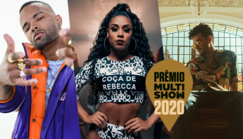 Começou! Com MC Rebecca, MC Zaac, Jão e mais, confira performances do pré-show do Prêmio Multishow 2020