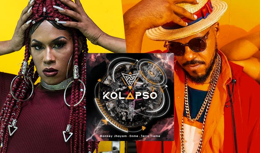 """Enme Paixão e Monkey Jayham estão juntos em novo single; ouça """"Kolapso"""""""