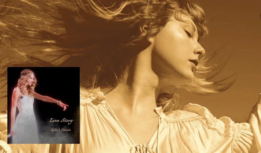 """Fazendo Scooter Braun entrar em desespero, Taylor Swift lança regravação de """"Love Story""""; ouça"""