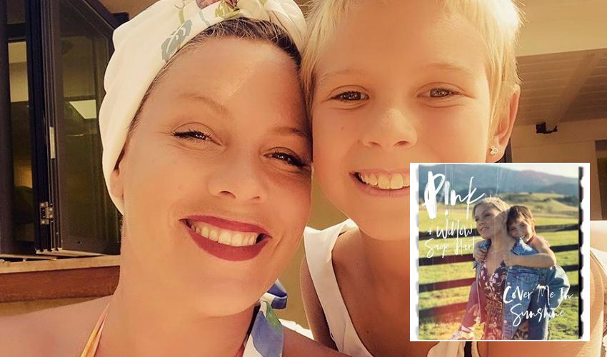 """P!nk lança """"Cover Me In Sunshine"""", em parceria com sua filha Willow; assista"""