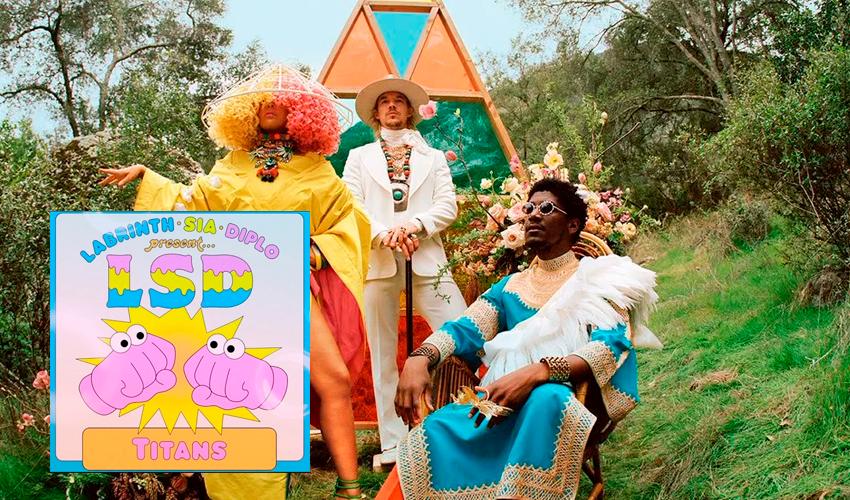 """Major Lazer, Sia e Labrinth lançam oficialmente """"Titans"""", novo trabalho do grupo LSD; ouça"""