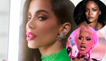 Anitta entra em estúdio com produtor de estrelas do pop: Cardi B, Rihanna, Camila Cabello e mais