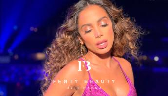 Anitta volta a ser destaque em perfil da linha de maquiagens de Rihanna, Fenty Beauty