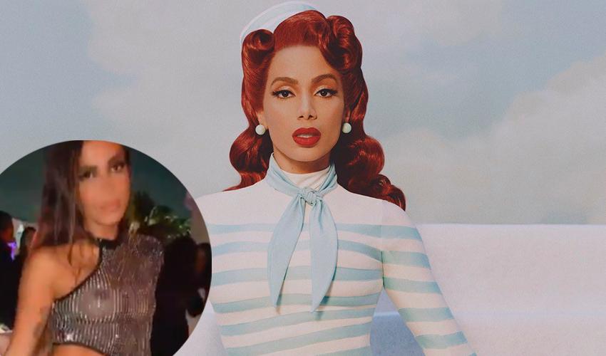 A Night From Rio: com look transparente Anitta é anfitriã da festa de lançamento de seu novo single em Miami; veja vídeos