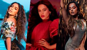 FEMALE LATINO GANG! Anitta registra nova canção em colaboração com Rosalía e Becky G; saiba detalhes