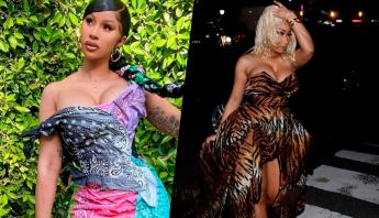 Cardi B se irrita com seguidores por relembrarem briga com Nicki Minaj