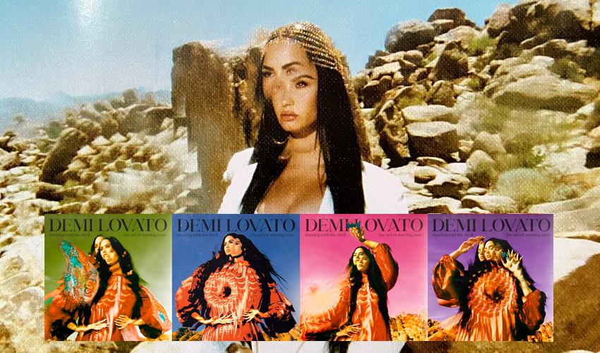 """Com Ariana Grande, Noah Cyrus e mais, Demi Lovato lança o álbum """"Dancing with the Devil… The Art of Starting Over""""; ouça"""