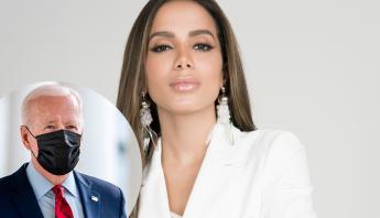"""Anitta confronta presidente Joe Biden sobre Amazônia e reposta vídeo polêmico: """"NÃO confie em Bolsonaro"""""""