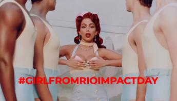 Fãs de Anitta promovem o #GirlFromRioImpactDay após gravadora enviar single para todas as rádios
