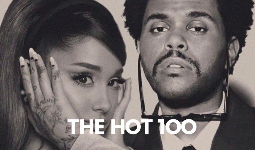"""The Weeknd e Ariana Grande conquistam o topo da Hot 100 com o remix de """"Save Your Tears"""""""