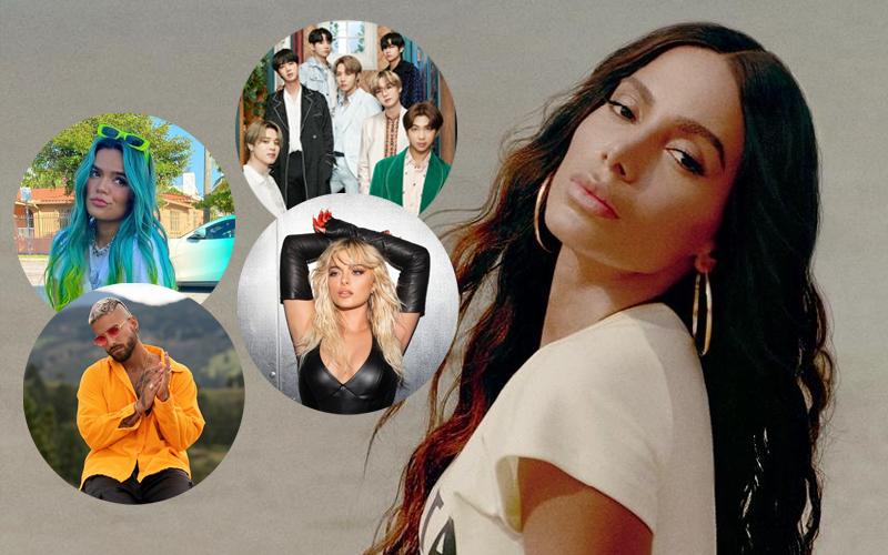 Anitta é anunciada em circuito de verão do Good Morning America ao lado de BTS, Karol G, Bebe Rexha, Maluma e outros