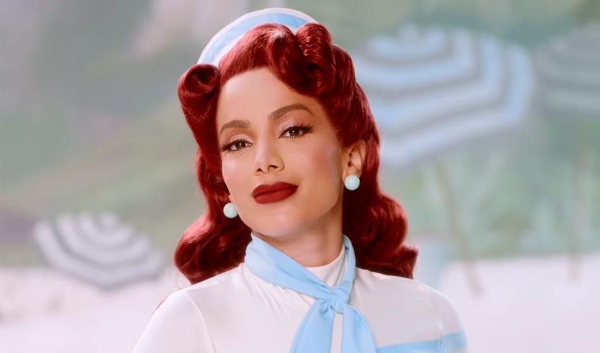 """Com """"Girl From Rio"""", Anitta atinge top 80 das faixas mais buscadas nos Estados Unidos"""