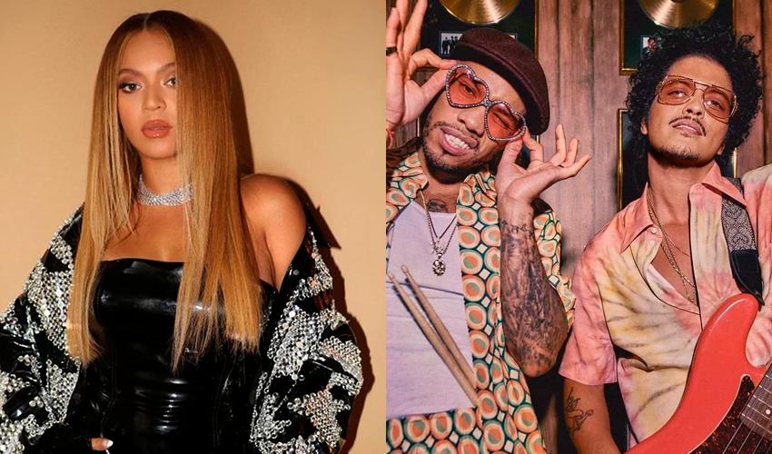 Segundo produtor, Beyoncé pode estar no álbum de estreia de Silk Sonic, grupo de Bruno Mars e Anderson .Paak