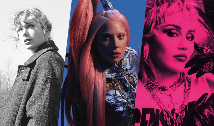 Com Taylor Swift, Miley Cyrus e Lady Gaga, confira os álbuns femininos mais vendidos de 2021 nos EUA
