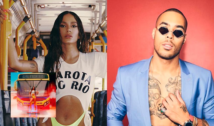 """O remix do remix! Anitta divulga nova versão de """"Girl From Rio"""", com DaBaby e TroyBoi; ouça"""