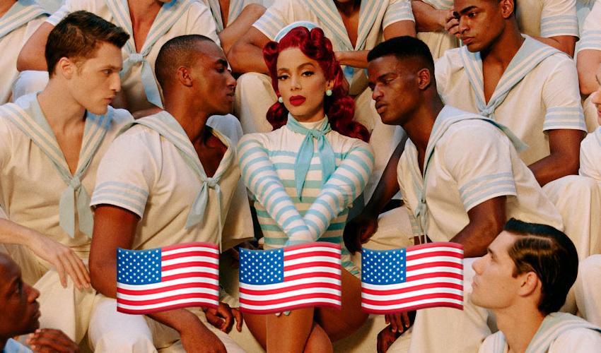 Anitta se torna a quinta artista mais reproduzida da semana nas rádios POP dos Estados Unidos