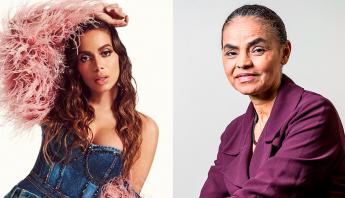Anitta quebra silêncio e revela que em eleições de 2018 votou em Marina Silva
