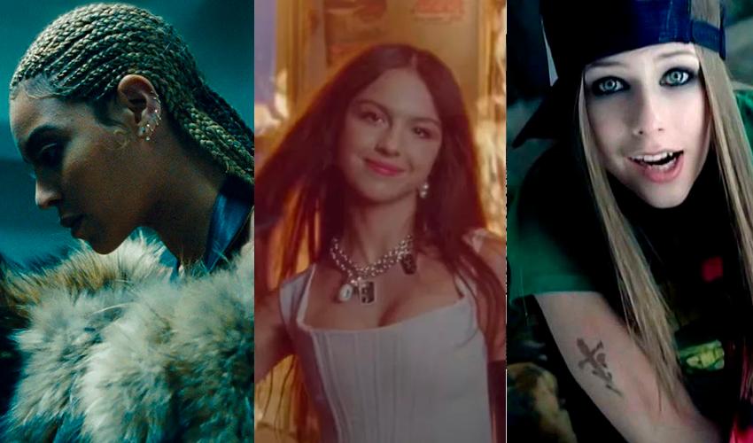 Com Beyoncé, Olivia Rodrigo e Avril Lavigne, SPIN elege as 20 melhores faixas de rock cantadas por artistas pop