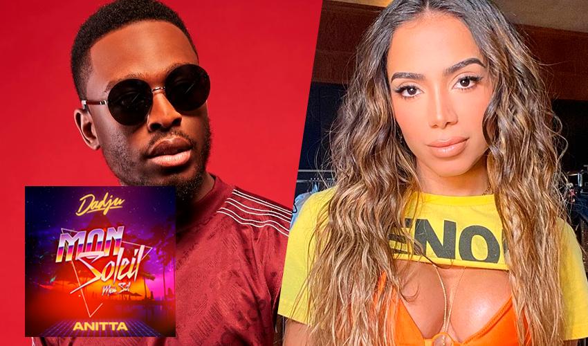 """5 IDIOMAS! Dadju convoca Anitta para cantar em francês na novíssima """"Mon Soleil""""; ouça"""