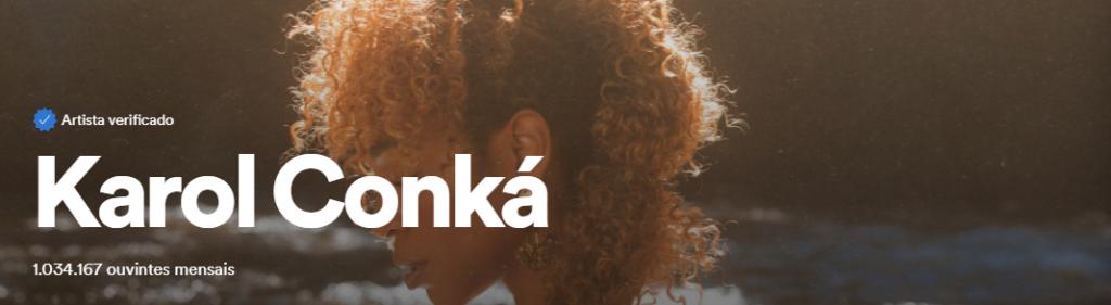 Segundo revista, Karol Conka apresentou aumento de engajamento em 1100% após sua participação no BBB 21