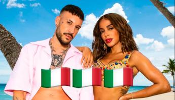 """Fred de Palma e Anitta atingem top 5 da Itália com """"Un Altro Ballo"""" e superam pico de """"Paloma"""""""