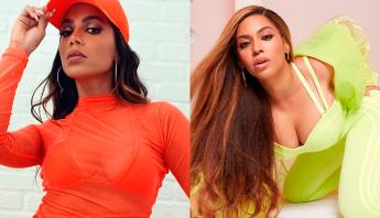 Anitta é destaque em marca de Beyoncé pela segunda vez em menos de uma semana