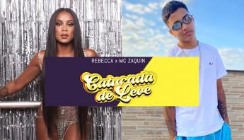 """Vai uma catucada de leve? MC Rebecca anuncia single """"Catucada de Leve"""" em parceria com MC Zaquin; confira"""