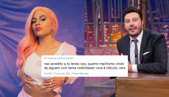 Danilo Gentili critica Luísa Sonza e reforça que sucesso da cantora se deu graças ao seu relacionamento