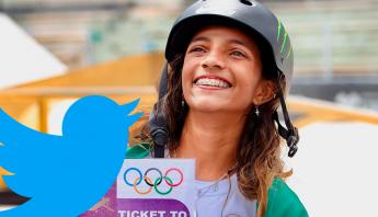 Rayssa Leal, a Fadinha, foi a atleta mais comentada do mundo durante os Jogos Olímpicos de Tóquio