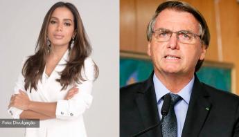 """ELA NÃO PARA!  Anitta faz mais críticas a Bolsonaro: """"Fez campanha eleitoral baseada em fake news e quer voto impresso"""""""