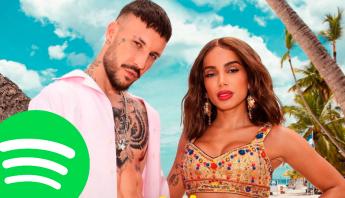 """""""Un Altro Ballo"""", de Fred De Palma e Anitta, atinge sua maior posição dentro do Spotify Itália e mira top 10"""