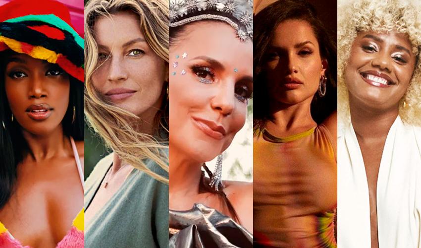 Com Iza, Gisele, Ivete, Juliette e Jéssica Ellen, Ipsos elege as celebridades brasileiras mais influentes de 2021