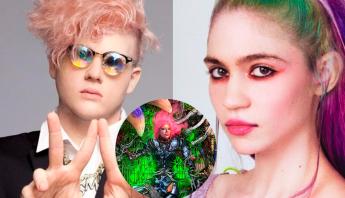 """Bloodpop e Grimes se desentendem após cantora afirmar que não teve tempo de finalizar seus trabalhos para """"Dawn Of Chromatica"""""""