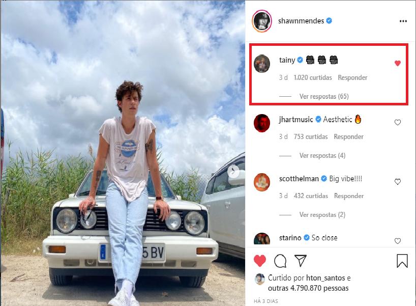 O comeback vem aí? Rumores indicam que Shawn Mendes esteja na Espanha para gravar novo projeto musical