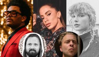 Anitta entra em estúdio com Max Martin e Ryan Tedder, produtores de Taylor Swift, The Weeknd e mais