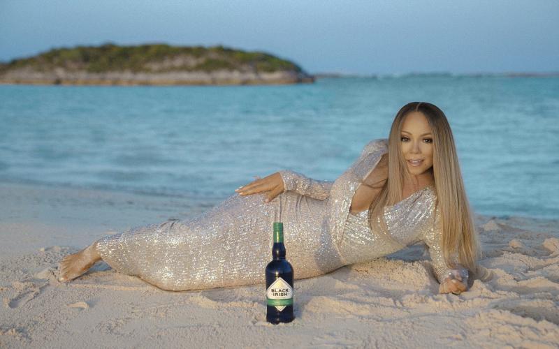 """""""Black Irish"""": Mariah Carey lança marca de bebida em tributo a herança racial; saiba mais"""