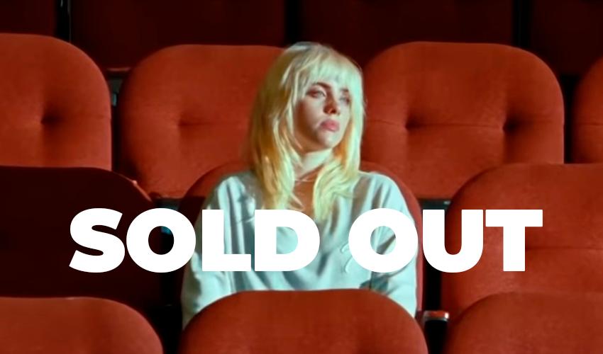 Com 32 shows oficializados, Billie Eilish está prestes a dar SOLD OUT em todas as datas de sua turnê