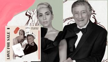 """Lady Gaga e Tony Bennett lançam seu novo álbum conjunto de jazz, """"Love For Sale""""; ouça"""