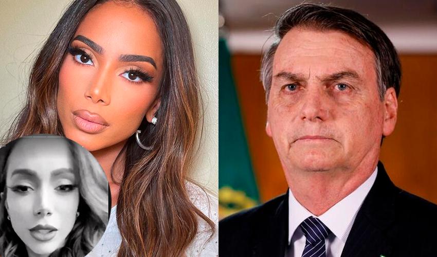 """Anitta volta a criticar bolsonaristas após protesto a favor de Bolsonaro: """"Vocês tão comemorando o que exatamente?"""""""